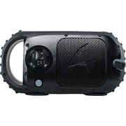 ECOSTONE Bluetooth Waterproof Speaker With Speaker Phone, Black
