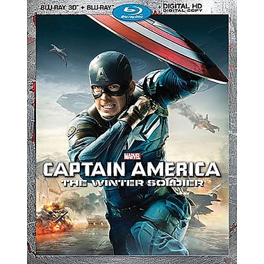 Captain America: The Winter Soldier (3D Blu-Ray/Blu-Ray/DVD)