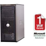 Dell 740 Tower Refurbished A64X2-2.0GHz, 2GB Ram, 160GB Hard Drive, DVD Rom, Win 7 Home Premium