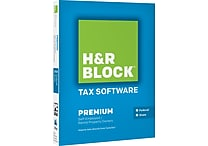 H&R Block Tax Software 14 Premium [Boxed]