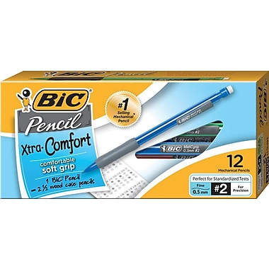 BIC Matic Grip® Mechanical Pencils .5mm, Dozen