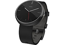 Moto 360, Black Leather