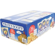 Pirates Booty Natural Aged White Cheddar .5 oz, 36/Pack