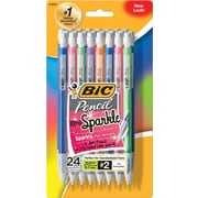 BIC® Mechanical Pencils with Assorted Colorful Barrels, .7mm, 24/Pack