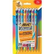BIC® Mechanical Pencils with Assorted Colorful Barrels, .9mm, 24/Pack