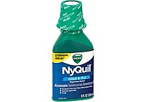 Vicks® NyQuil™ Liquid Cold & Flu; Nighttime Relief Original 236mL, 8oz