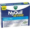 Vicks NyQuil Severe Caplets Cold & Flu; Max Strength