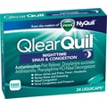 Vicks QlearQuil Nighttime Sinus & Congestion Relief