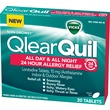 Vicks QlearQuil All Day & All Night 24 Hour Allergy Relief 20 Count