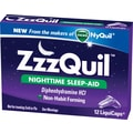 Vicks ZzzQuil LiquiCaps; Nighttime Sleep-Aid 24 boxes