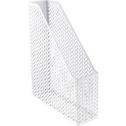 Staples® White Zigzag Magazine File (26849)