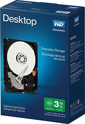 "[Staples.ca] WD 3TB 3.5"" 5400RPM internal HD - $99 (price match with Best Buy)"