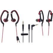 Audio Technica SonicSport In-ear Headphones, Red