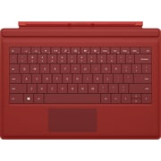 Microsoft Surface Pro Type Cover, Red, For Surface Pro 3