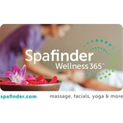 Spafinder Wellness 365 Gift Card, $50