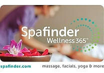 Spafinder Wellness 365 Gift Cards, $25, $50 OR $100 (Email Delivery)