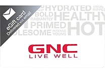 GNC Gift Card $100 (Email Delivery)