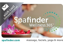 Spafinder Wellness 365 Gift Card, $100 (Email Delivery)