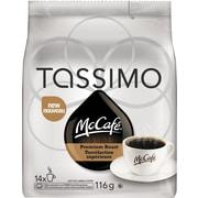 Tassimo McCafé Premium Roast T-Discs, Serves 14 Cups, 116g