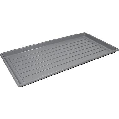 Storex Plastic Boot Tray, Grey