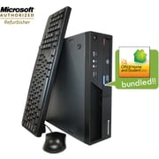 Refurbished IBM Lenovo ThinkCentre M58P with MS Office 2010 Home & Student preinstalled, Intel Core2Duo 3.0Ghz, Windows 7