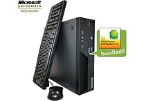 IBM Lenovo ThinkCentre M58P with MS Office 2010 Home & Student preinstalled, Intel Core2Duo 3.0Ghz, Windows 7, (Refurbished)