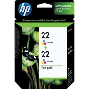 HP 22 Tricolor Ink Cartridges (CC580FN), Twin Pack