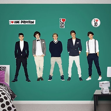 Fathead One Direction Collection Wall Decal