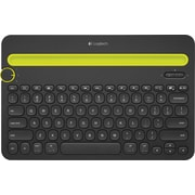 Logitech K480 Wireless Bluetooth Compact Multi-Device Keyboard for Computers, Tablets and Smartphones, Black (920-006342)