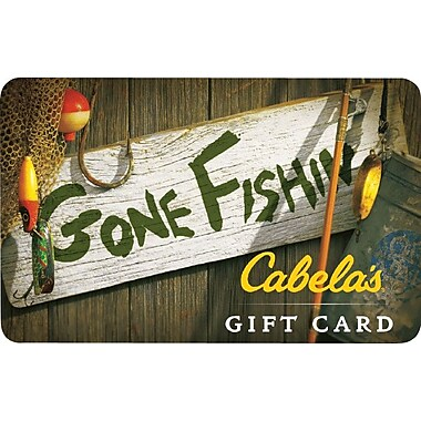 Cabela's Gift Card $50 (Email Delivery)