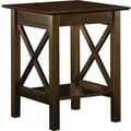 Atlantic Furniture Lexi Printer Stand; Antique Walnut