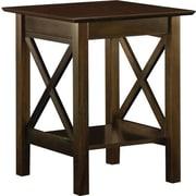 Atlantic Furniture Lexi Printer Stand; Antique Walnut