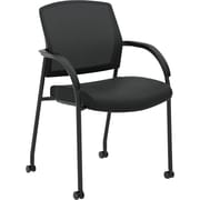 HON® Lota® Stacking Multi-Purpose Side Chair, Black (HON2285VA10)