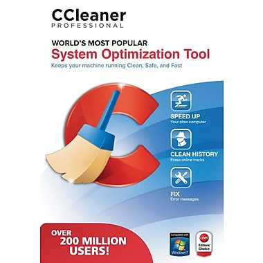 CCleaner Professional System Optimization Tool, 1 User