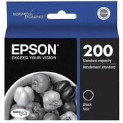 Epson® T200120-D2 Black Ink Cartridges, 2/Pack
