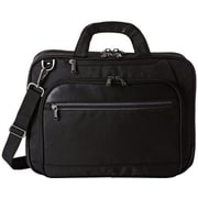 Kenneth Cole Reaction Messager Bag with Tablet/iPad Pocket, Black,  15.6