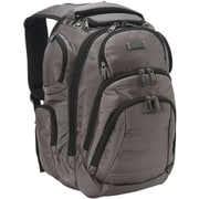 Kenneth Cole Reaction Backpack with Tablet/iPad Pocket, Charcoal, 17