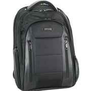 Kenneth Cole Reaction Backpack with Tablet/iPad Pocket, Black, 17