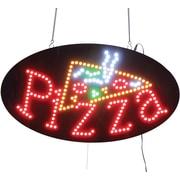 LED Pizza Sign Round