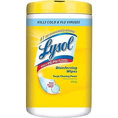 Lysol Disinfecting Wipes, Citrus, 110 Wipes/Pack