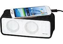 SoundLogic 3-in-1 Powerplay Bluetooth Power Bank and Speaker w / Microphone