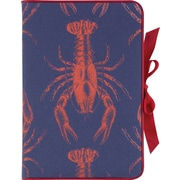 Paperchase Anchors Ahoy Linen Journal, Lobster