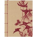 Paperchase Japanese Stitch Kraft Journal, Red Bird, 5in.x6.375in.