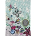Paperchase Tea Party Stitched Journal, 6in.x8.5in.