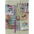 Paperchase Lazy Days Journal, Magnetic Closure, 6.5in.x8.5in.