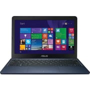 "Asus X205TA 11.6"" Laptop, HD Display, Intel® Atom Z3735F Processor, 32GB Flash Hard Drive, 2GB DDR3L RAM, Windows 8.1, Blue"