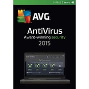 AVG AntiVirus 2015 - 3 PCs / 2 Years