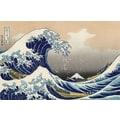 Trademark Global Katsushika Hokusai in.The Great Kanagawa Wavein. Canvas Art, 16in. x 24in.
