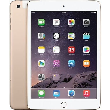 Apple iPad mini 3 with Retina display with WiFi 16GB, Gold