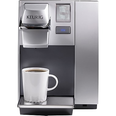 Keurig OfficePRO Premier Single-Cup Coffee Brewing System, Black/Silver